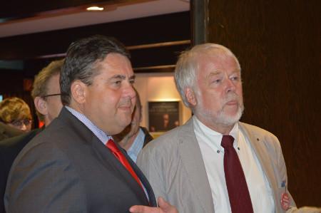Sigmar Gabriel Und Peter Wendlandt